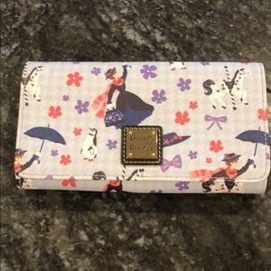 Disney Dooney Mary Poppins crossbody wallet